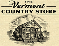 Vermont Country Store Logo Identity by Steven Noble