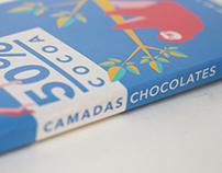 Camadas Chocolates