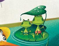illustrations for kids magazines