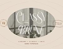 FREE | Classy Brune Chic Sans Serif