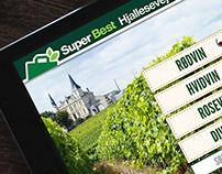 SuperBest wine app