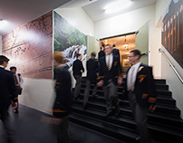 The Scots College – Humanities wall designs