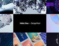 Design Reel 2018 - Nidia Dias