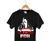 Camisa PDR Boxing.
