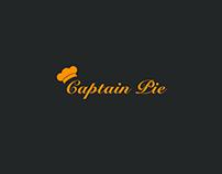 Captain Pie logo Design