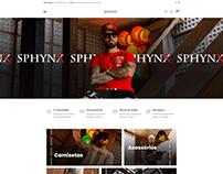 Loja Virtual | Sphynx Clothing