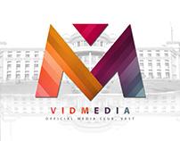 VidMedia - Logo Design and Branding