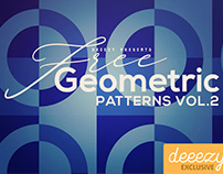 8 Free Geometric Patterns 2