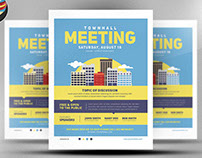 Community Meeting Flyer Template v2