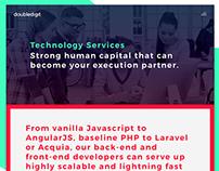 Doubledigit Agency Website