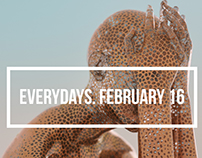 everydays. february 16