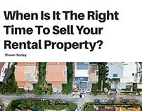 When Is It The Right Time To Sell Your Rental Property?
