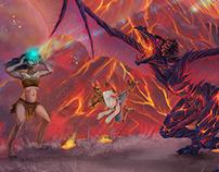 Fantasy Cover Artwork - Jon Brazer Enterprises