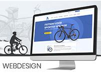 Home page design | ecommerce| Meindert Fietsspecialist