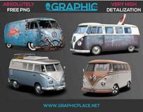 Vintage Cars – Free PNG