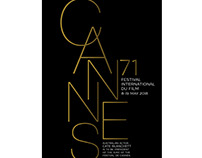 CANNES Poster Design