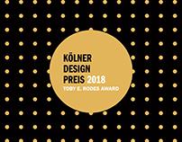 "Animations & Illustration for the ""Kölner Design Preis"""