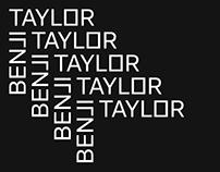 Benji Taylor - Visual Identity