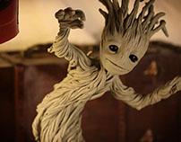 Personal Sculpture Project: BABY GROOT