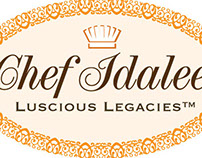 Chef Idalee Branding and Logo