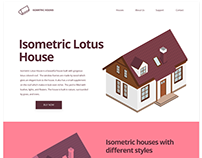 Isometric Lotus House