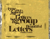 Type Museum Posters