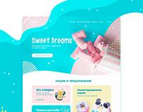 Sweet Dreams website