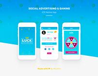 Gaming iOS app