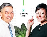 SMART BUSINESS: 2 personal websites