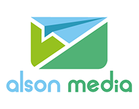 Alson Media Logo Design