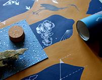 Avon Heron Artisan Wallpaper tailored to measure.