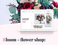 Bloom - Flower Shop PSD Template