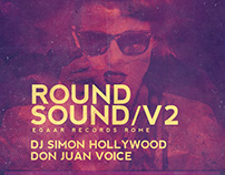 Sound Round Vol.2 Flyer/Poster