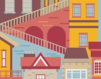 Buildings - Uphill