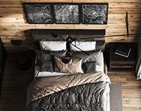 Cozy bedroom Traditsia 1