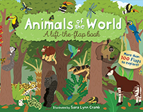 Animals of the World illustrations