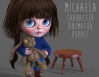Michaela - Zbrush Sculpt & CH Puppet