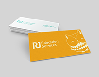 RJ Education Services Business Cards Revamp