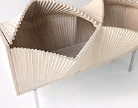 Wave Cabinet (natural wood)