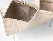 Wave Cabinet (natural wood)