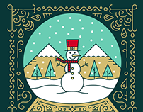 Bank of American Fork Holiday Card 2018