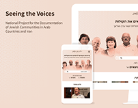 Seeing the Voices website