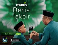 Maxis Raya: Deria Takbir