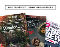 Project Spotlight // Posters