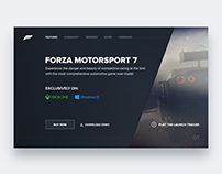 Forza game card