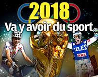 2018, va y avoir du sport