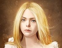 Elle Fanning - Portrait