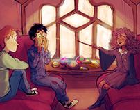 Harry Potter Visual Development