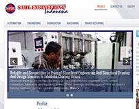 Corporate Industrial Website