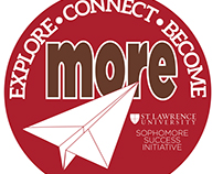 Sticker Series for St. Lawrence University